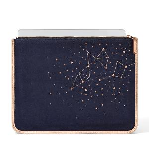 Fossil Constellation Large iPad Zip Pouch tech protection