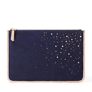 Fossil Constellation Large iPad Mini Zip Pouch tech protection