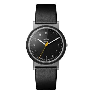 Braun AW10 Classic Watch with Leather Strap
